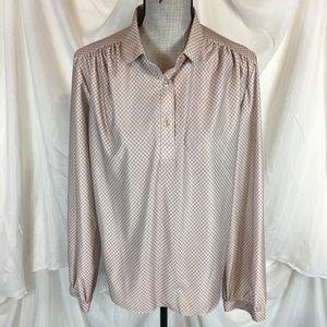 Vintage 70s 80s Joren Size 18 Popover Top Shirt
